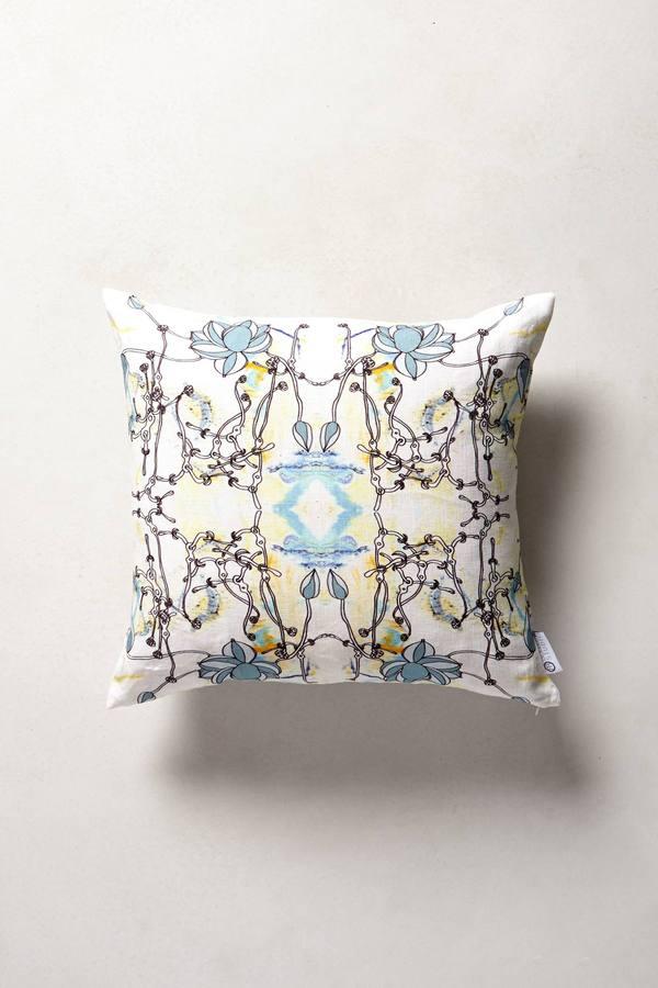 Anthropologie Bellus Wildflower Pillow