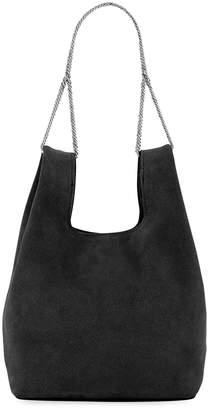 Hayward Mini Suede Shopper On A Chain Tote Bag