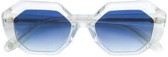 Garrett Leight oversized tinted sunglasses