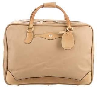 Gucci Vintage Canvas Suitcase