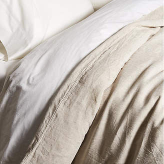 One Kings Lane Matteo for Washed Linen Duvet Cover - Loomstate
