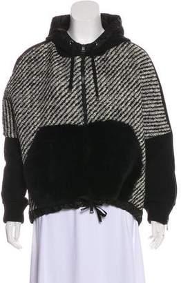 Moncler Wool Hooded Jacket
