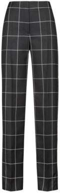 HUGO Boss Regular-fit pants a large-scale check 2 Patterned