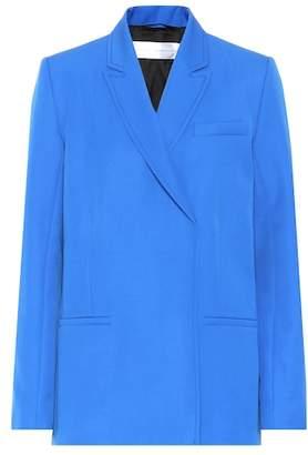 Victoria Beckham Victoria Linen double-breasted blazer