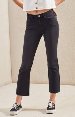 PacSun Eight Ball Cropped Flare Jeans