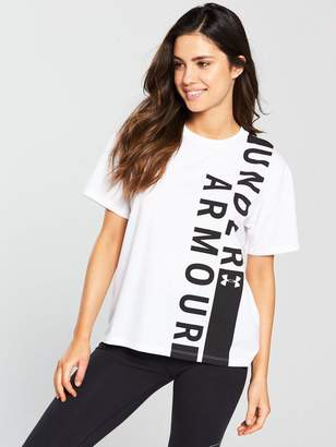 Under Armour Graphic Tee - White