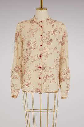 Forte Forte Printed cotton shirt