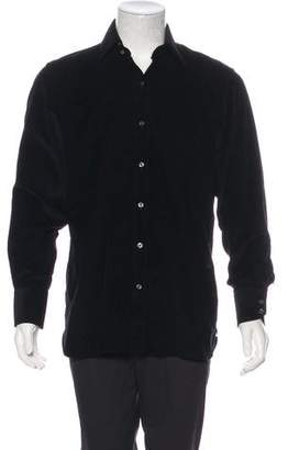 Tom Ford Corduroy Button-Up Shirt
