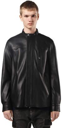 Diesel Black Gold Diesel Leather jackets BGPTC - Black - 44
