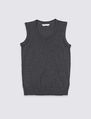 Marks and Spencer Unisex Cotton Rich Tank Top