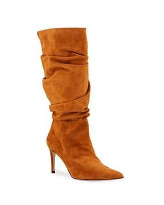 Alexandre Birman Lucy Slouchy Suede Stiletto Boots