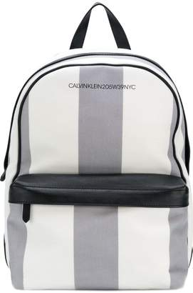 Calvin Klein Medium striped backpack