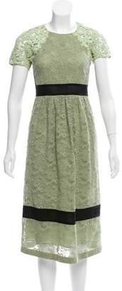 Burberry Lace Midi Dress w/ Tags