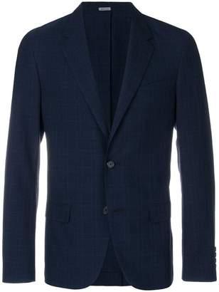 Lanvin grid print blazer