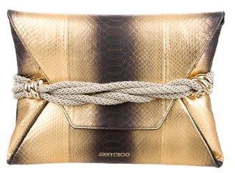 Jimmy ChooJimmy Choo 2017 Dora Python Bag