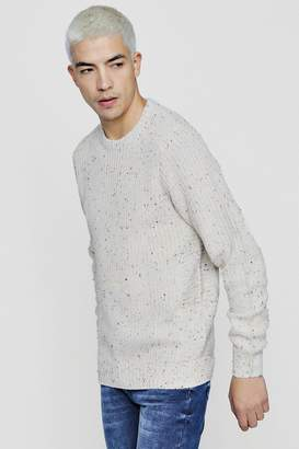 boohoo Nep Yarn Jumper