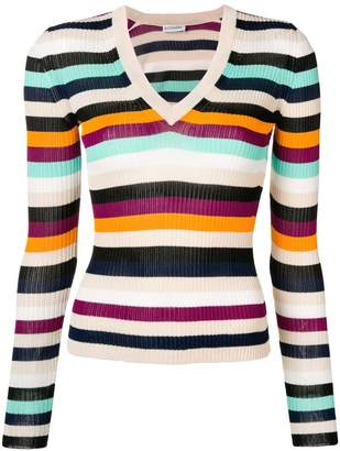 Altuzarra V-neck knitted top