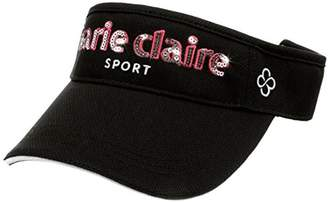 Marie Claire (マリ クレール) - (マリクレール)marie claire MCサンバイザー718909レディス 718909 BK F