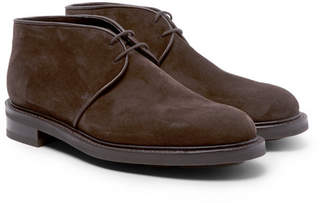 John Lobb Grove Suede Chukka Boots - Men - Brown