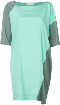 A.F.Vandevorst colour block T-shirt dress