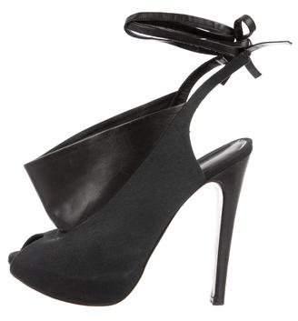 Georgina Goodman Canvas Slingback Sandals