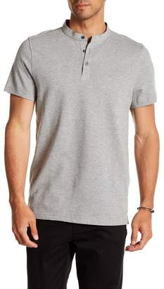 Kenneth Cole New York Waffle Knit Henley Shirt