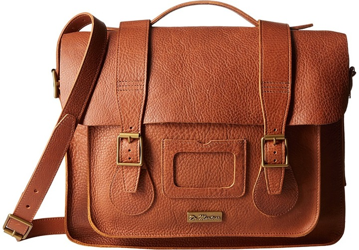 "Dr. Martens Dr. Martens 15"" Leather Satchel"