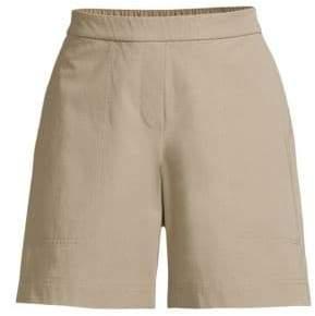 Lafayette 148 New York Women's Fulton High-Waist Shorts - Jute - Size XS
