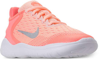 Nike Little Girls' Free Rn 2018 Running Sneakers from Finish Line