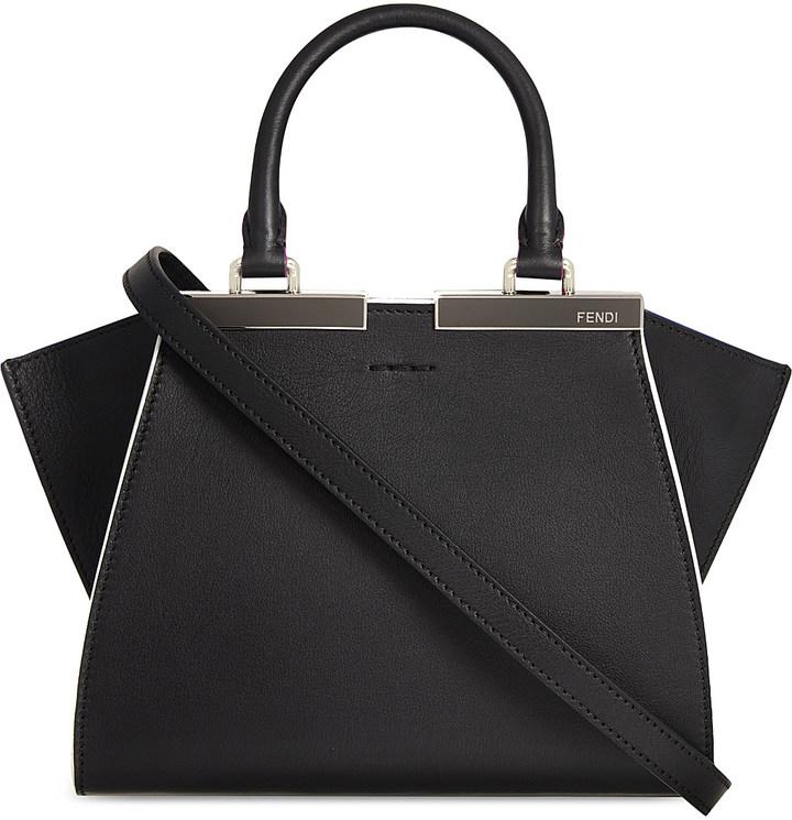 FendiFendi Mini 3jours leather tote