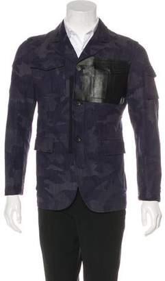 Valentino Camouflage Field Jacket