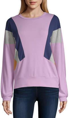 Arizona Womens Round Neck Long Sleeve Sweatshirt