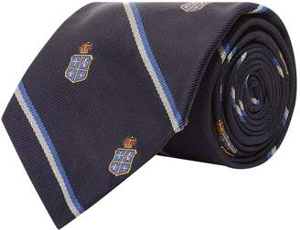 Polo Ralph Lauren Club Crown Silk Print