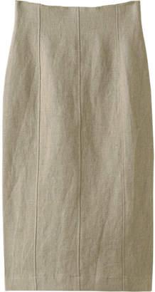 Whim Gazette (ウィム ガゼット) - ウィム ガゼット リネンオックスタイトスカート
