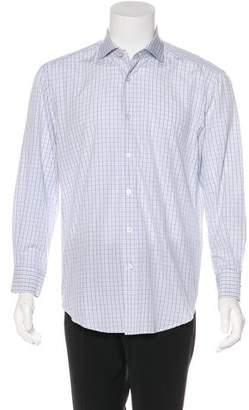 Kiton Woven Check Shirt