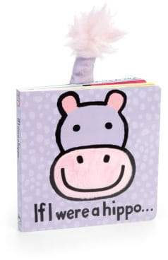 "Jellycat ""If I Were A Hippo"" Book"