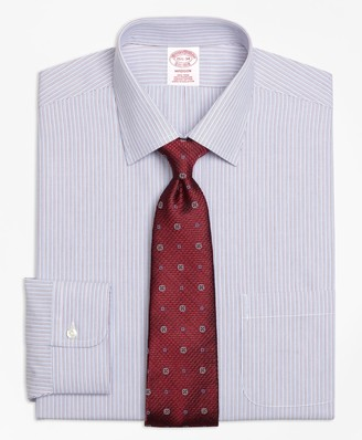 Brooks Brothers Madison Classic-Fit Dress Shirt, Non-Iron Narrow Stripe
