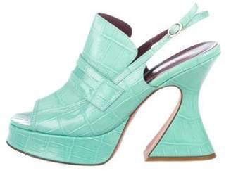 Sies Marjan Ellie Embossed Sandals