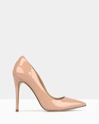 betts Blossom Patent Stiletto Heels