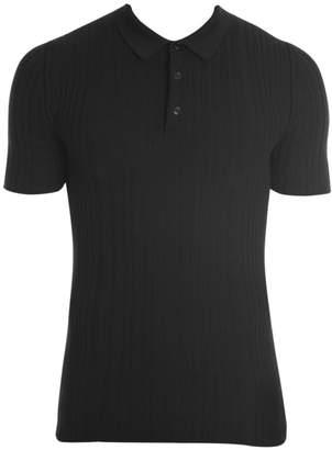 Dolce & Gabbana Ribbed Polo Shirt