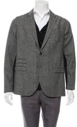 Neil Barrett Detachable Cardigan & Blazer Set