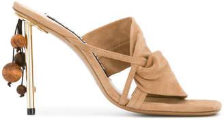 hanging detail sandals