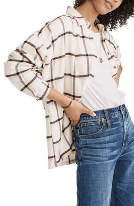 Madewell Bromley Northall Plaid Flannel Shirt