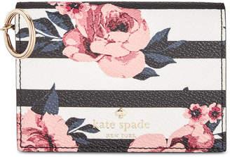 Kate Spade Hyde Lane Rose Stripe Wallet