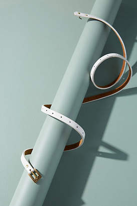 Anthropologie Claire Skinny Buckle Belt