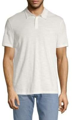 John Varvatos Short-Sleeve Cotton Polo