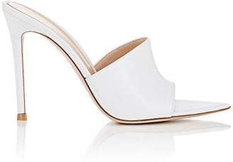 Gianvito Rossi Women's Alise Leather Mules - White