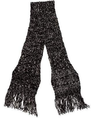 Chanel Strass Crystal Embellished Wool Scarf