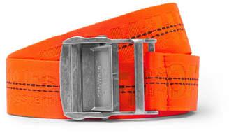 Off-White 3.5cm Orange Webbing Belt