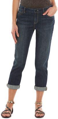 Women's Jennifer Lopez Boyfriend Jeans $54 thestylecure.com